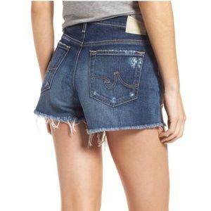 AG .  Bryn Ex Boyfriend Cut-Off Shorts . 26